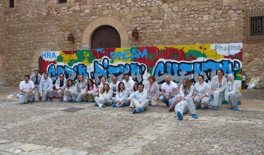Graffiti experience