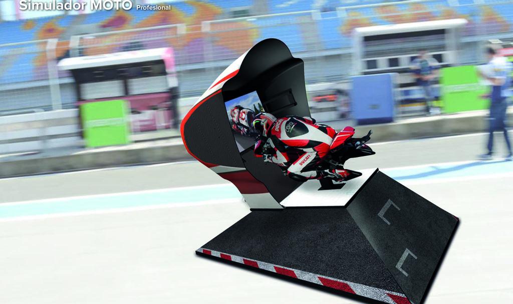 simulador moto profesional