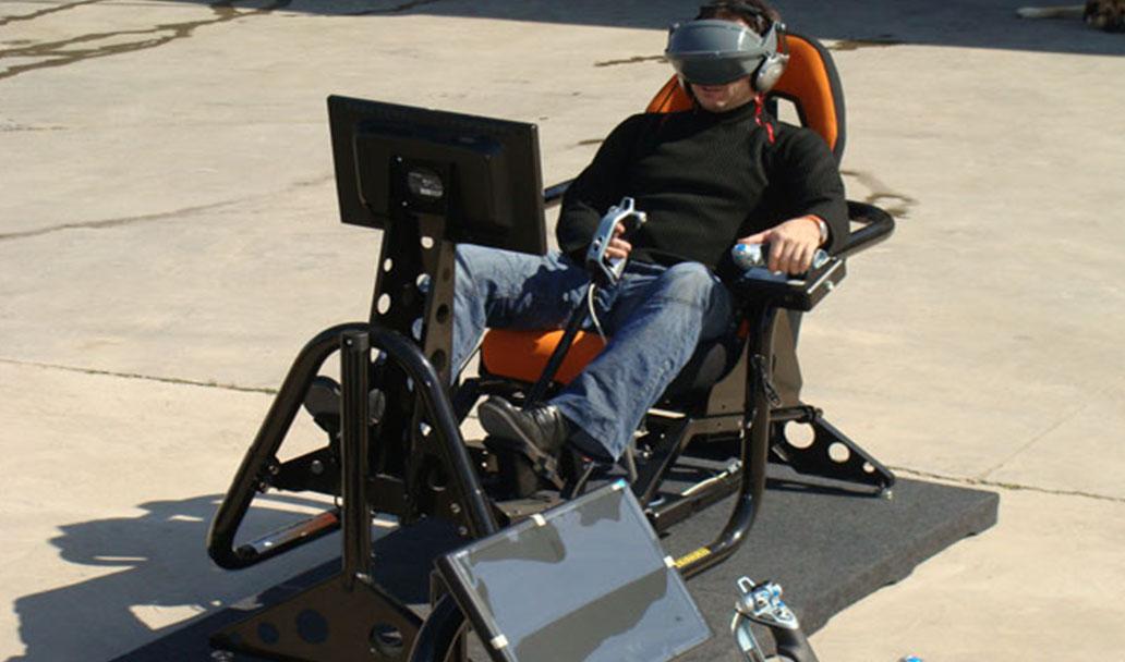 Simulador vuelo 3d perfecto para centros comerciales y de ocio for Simulador de cocinas 3d